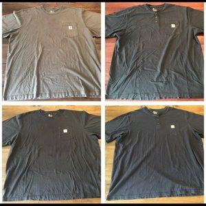 Carhartt shirt lot of 4